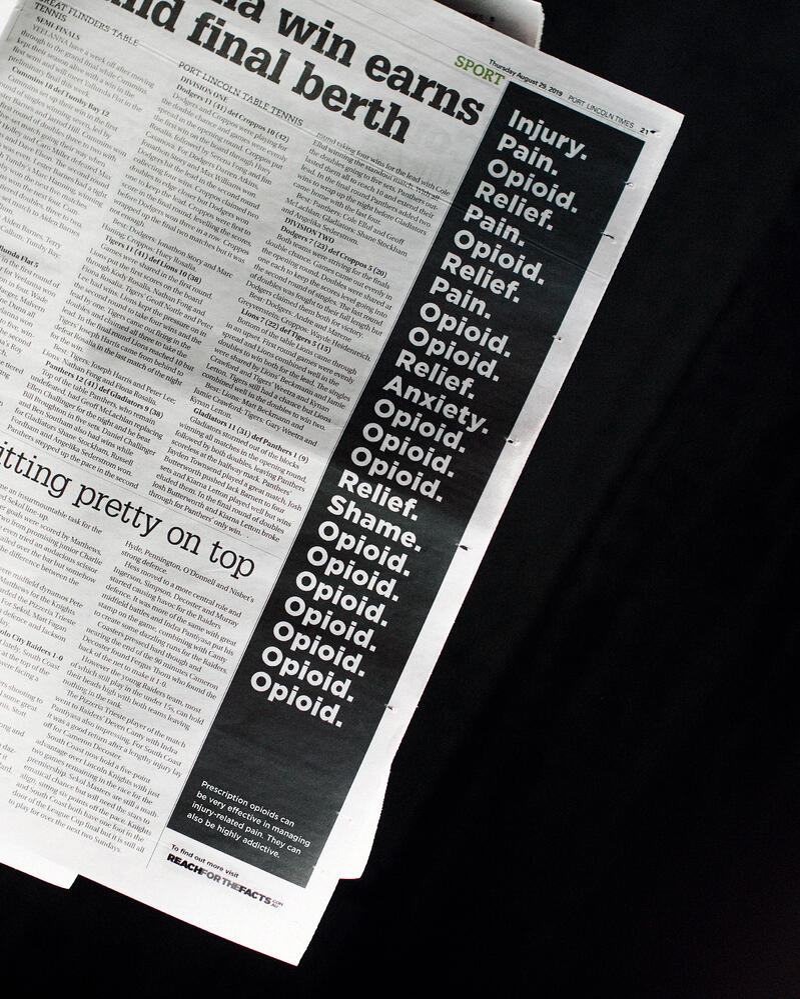 Opioids in the Paper