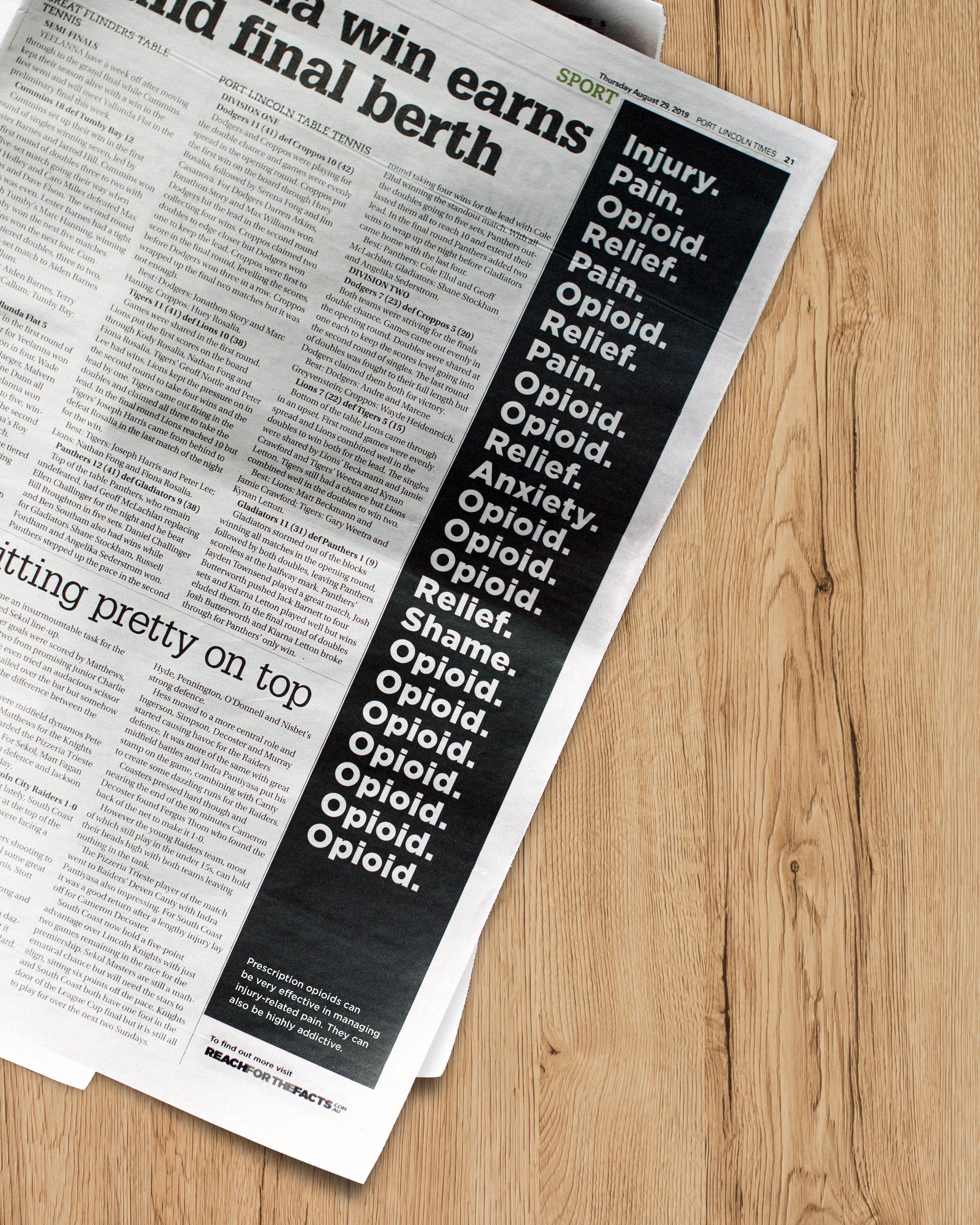 Opioids in the Paper2